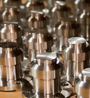 CNC metal machined components